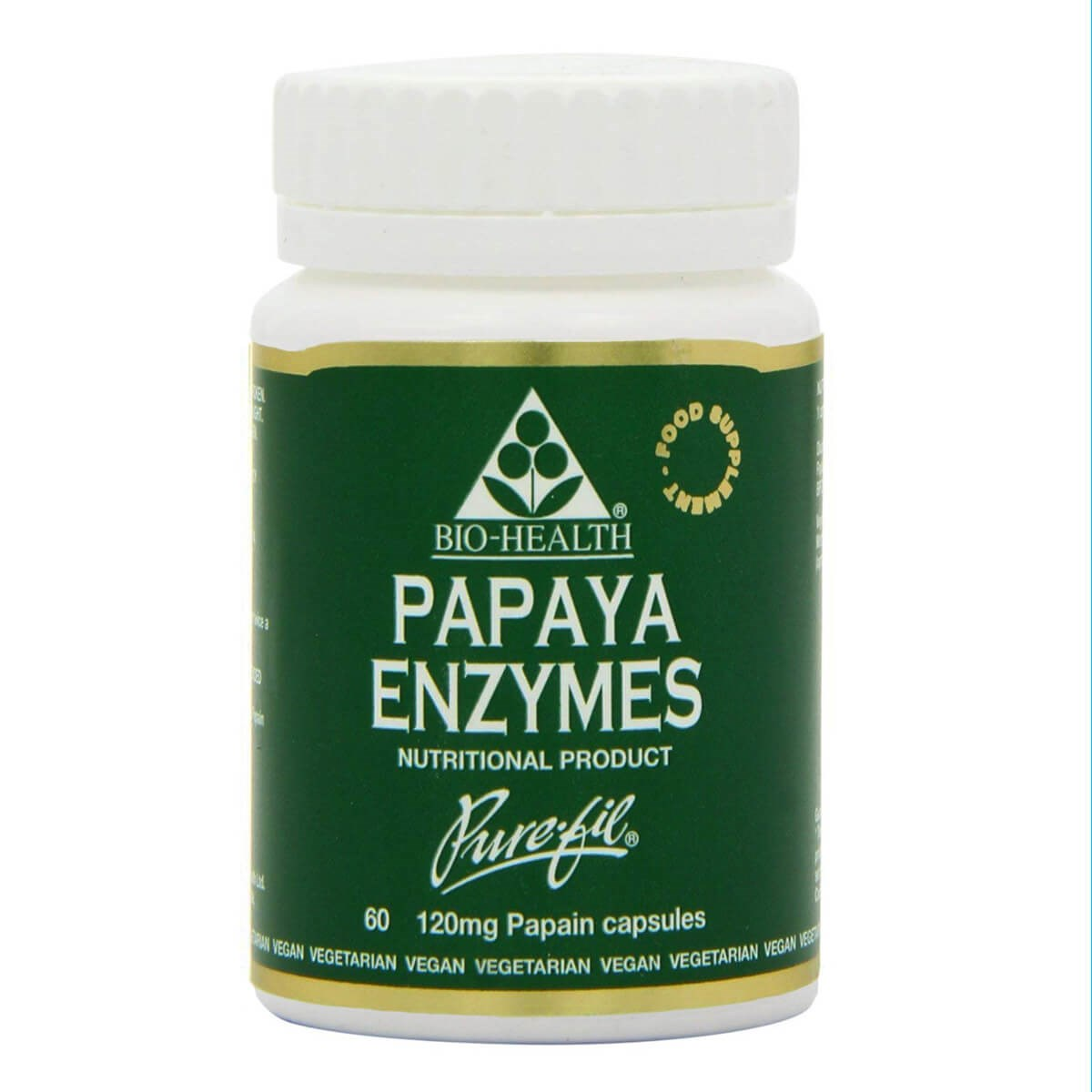 Bio-Health Papaya Enzymes Capsules