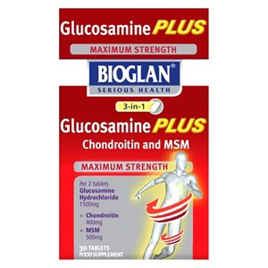 Bioglan 3 in 1 Glucosamine Plus Chrondroitin and MSM