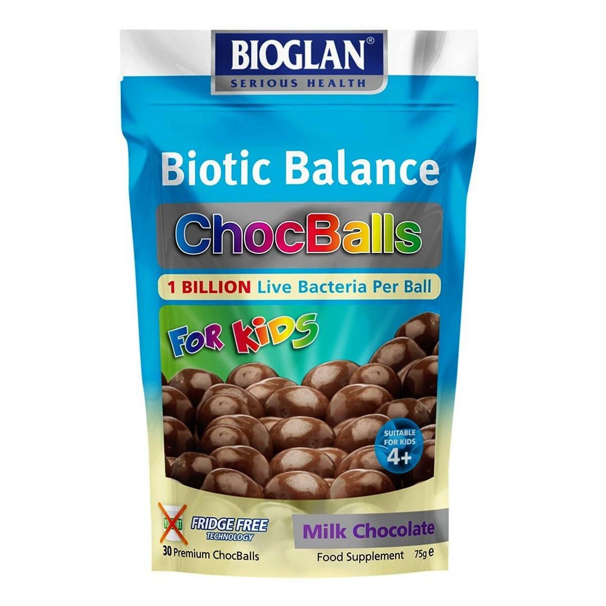 Bioglan Biotic Balance Kids Milk ChocBalls