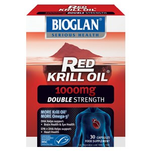 Bioglan Red Krill Oil 1000mg Double Strength