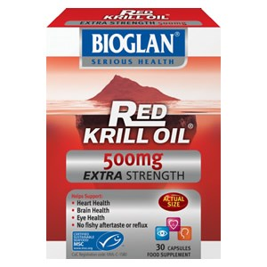 Bioglan Red Krill Oil 500mg Extra Strength