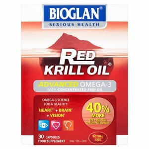 Bioglan Red Krill Oil Advanced Omega 3