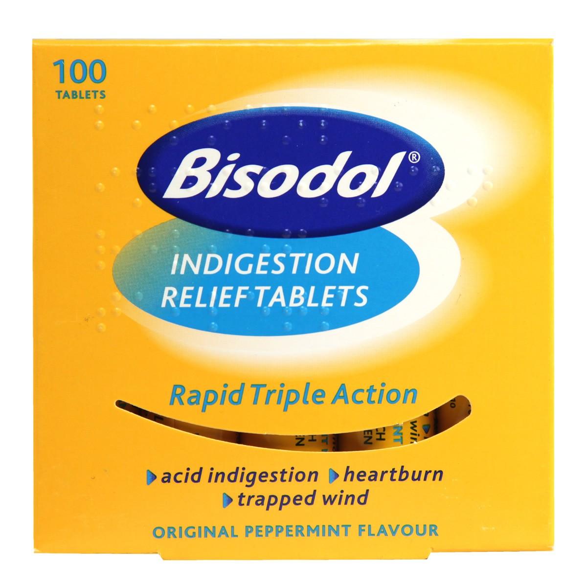 Bisodol Indigestion Relief Tablets