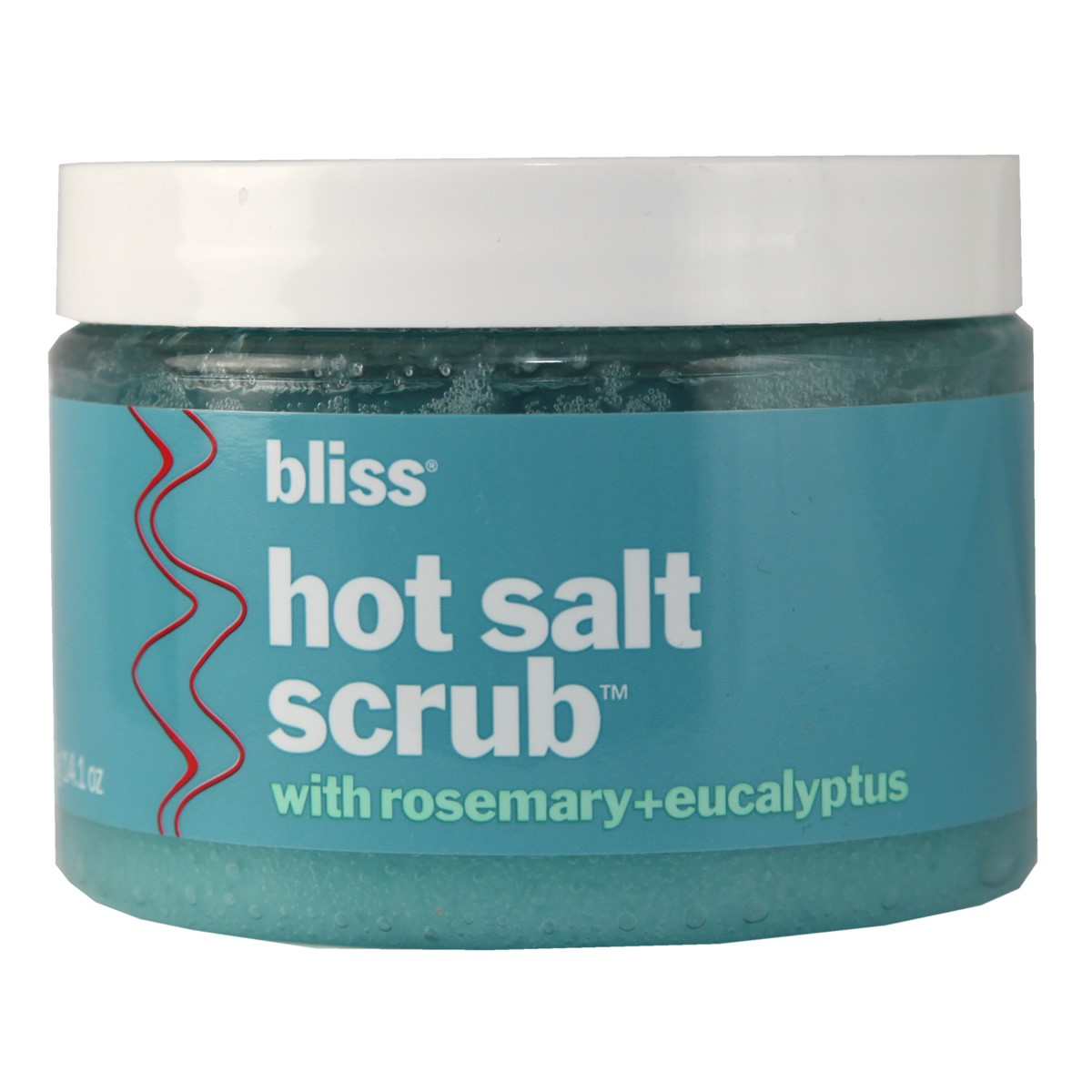 Bliss Hot Salt Scrub with Rosemary+ Eucalyptus