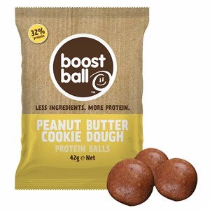 Boostball Peanut Butter Cookie Dough Protein Balls 42g