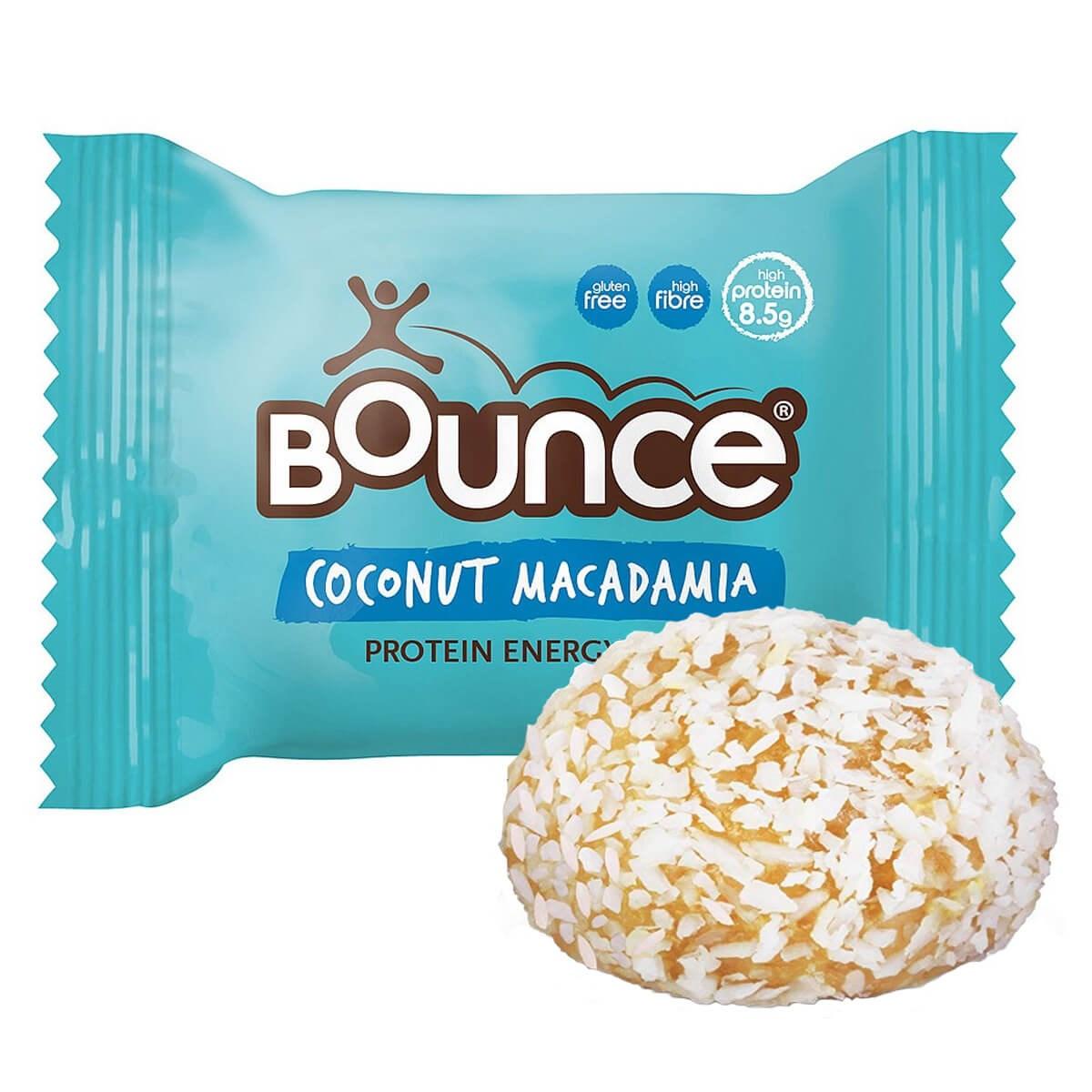 Bounce Coconut & Macadamia Protein Bliss