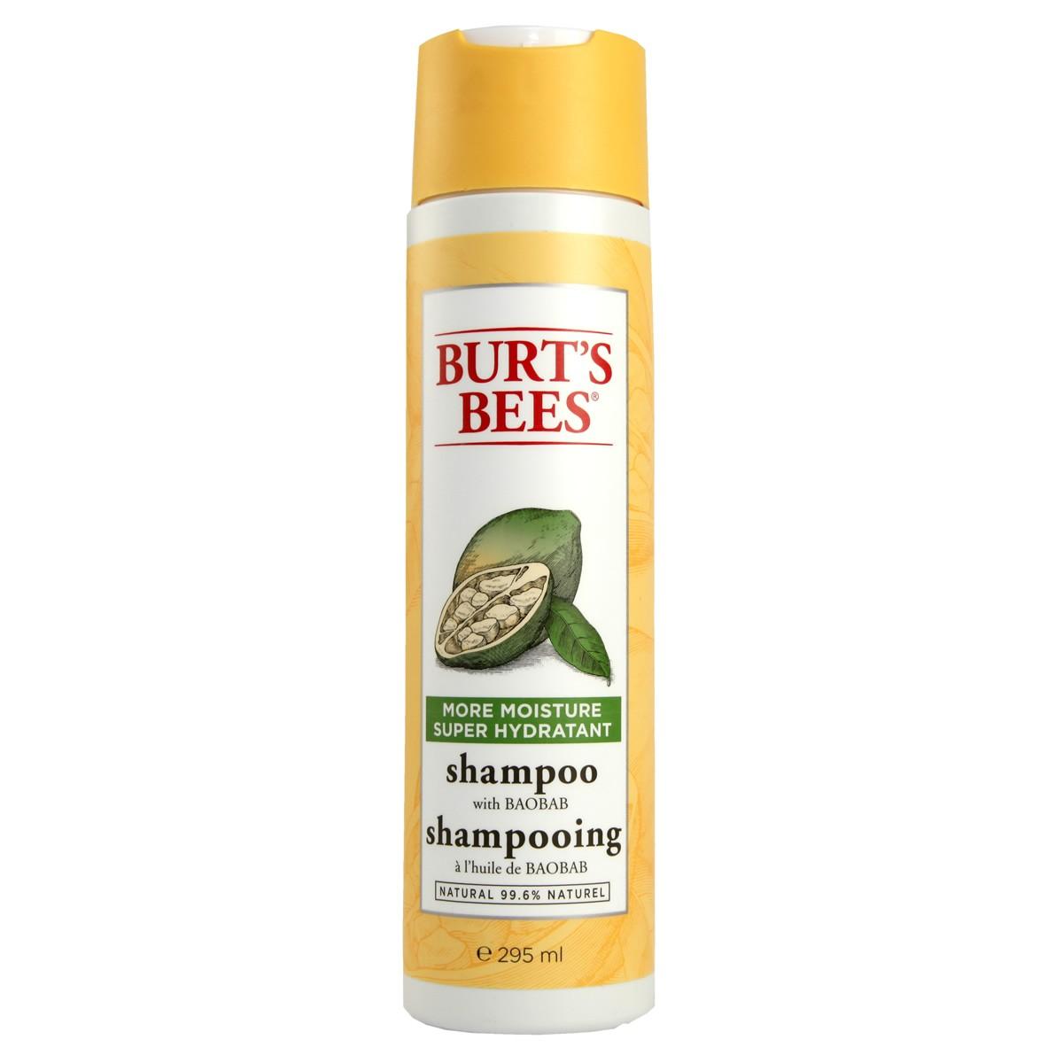 Burt`s Bees More Moisture Shampoo with Baobab