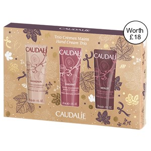 Caudalie Hand Cream Trio Gift Set