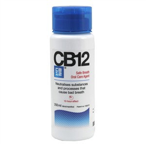 CB12 Safe Breath Oral Care Agent Mouthwash