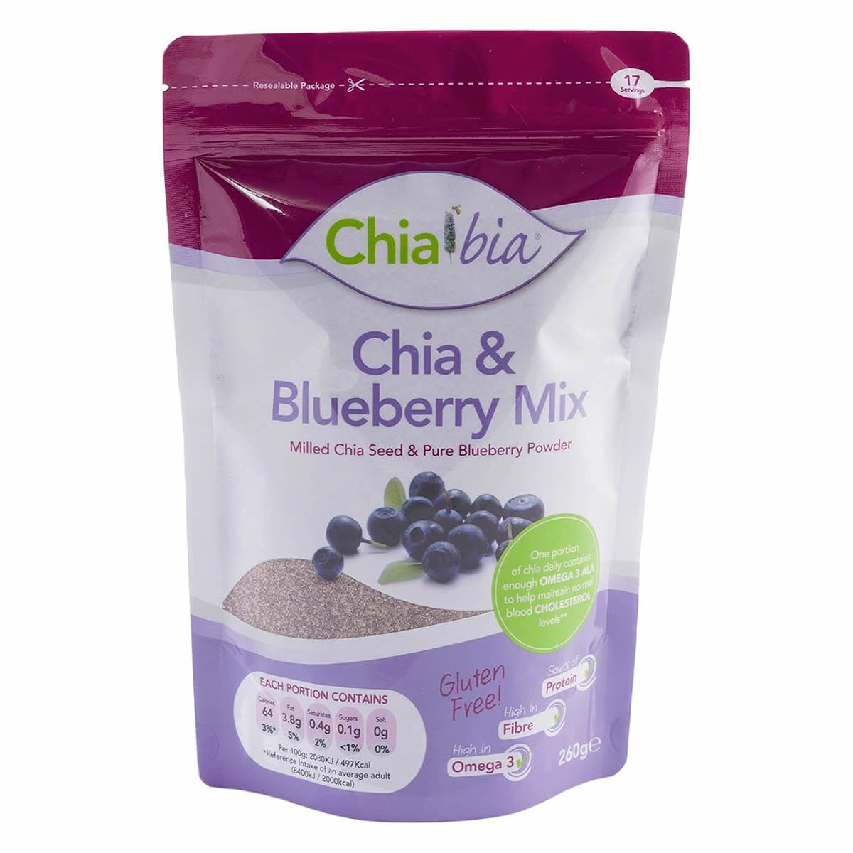 Chia Bia Chia & Blueberry Mix 100g