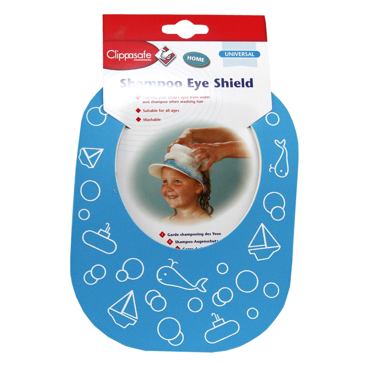 Clippasafe Universal Shampoo Eye Shield