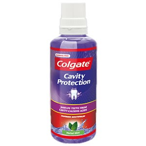 Colgate Cavity Protection Mouthwash - Herbal Mint
