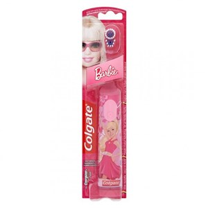 Colgate Extra Soft Battery Toothbrush - Barbie