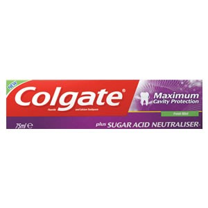 Colgate Maximum Cavity Protection Fresh Mint Toothpaste