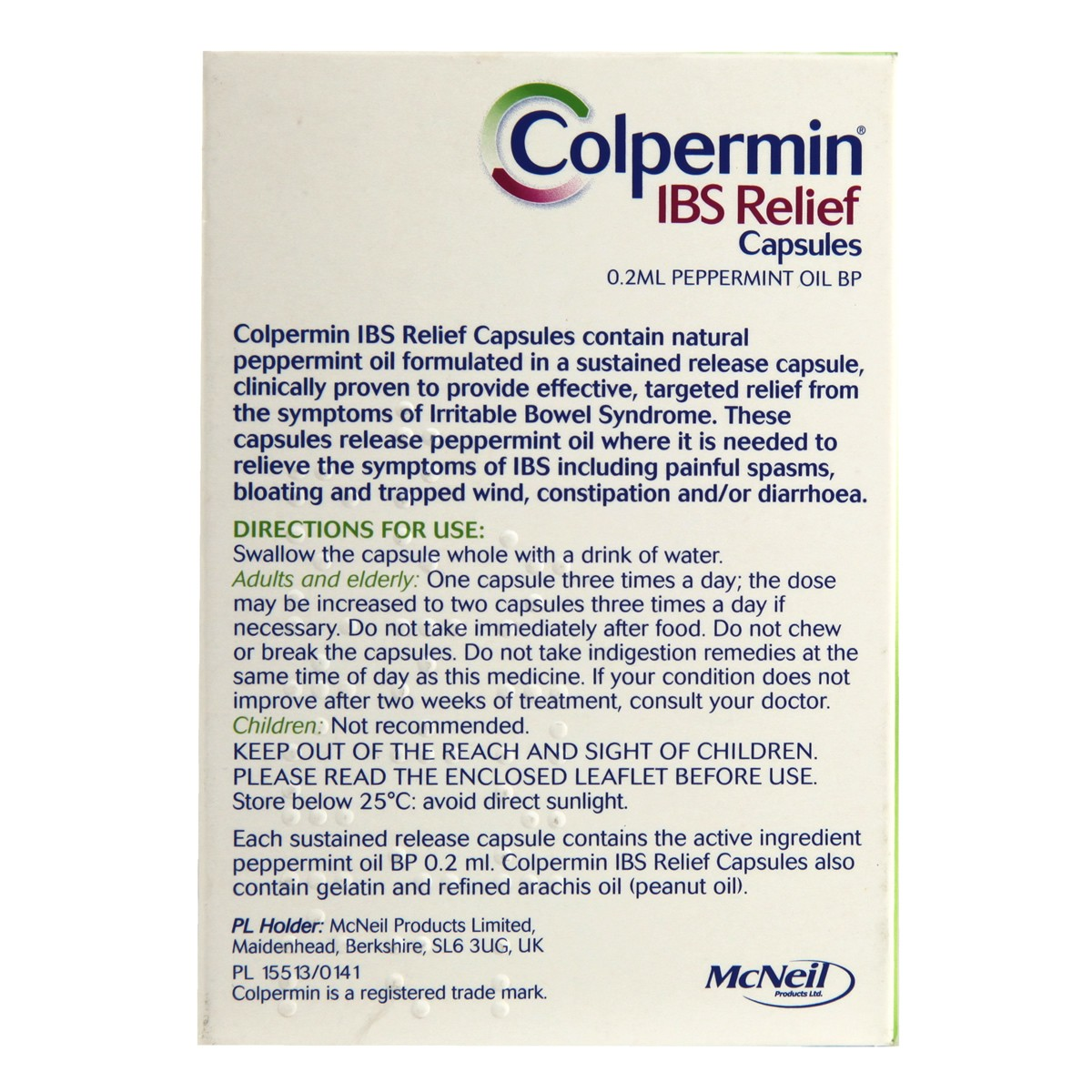 Colpermin IBS Relief Capsules
