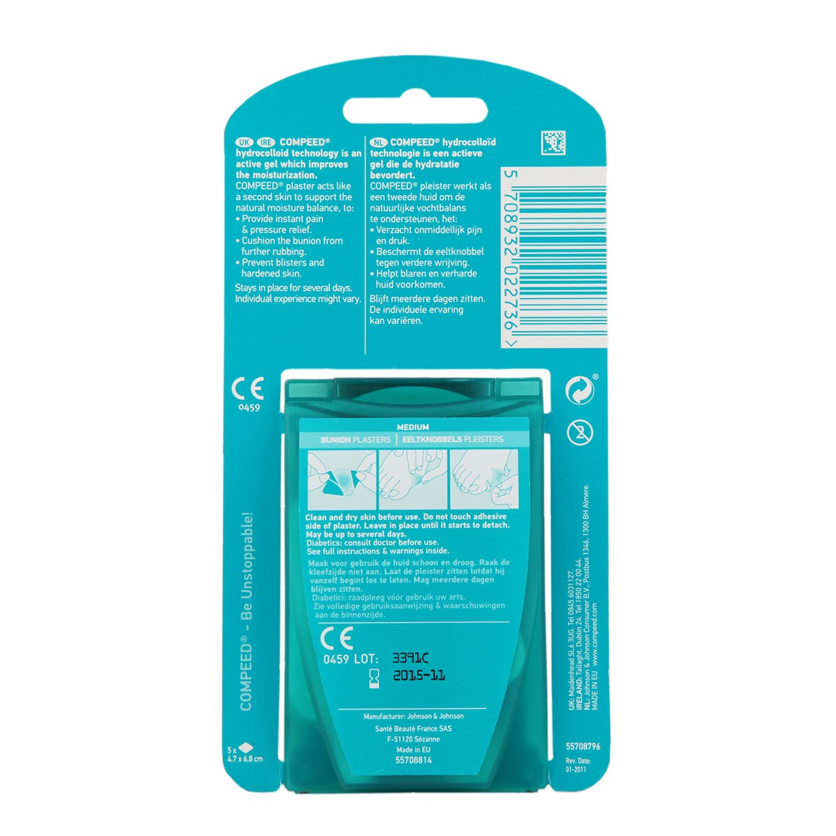 Compeed Bunion Plasters Medium