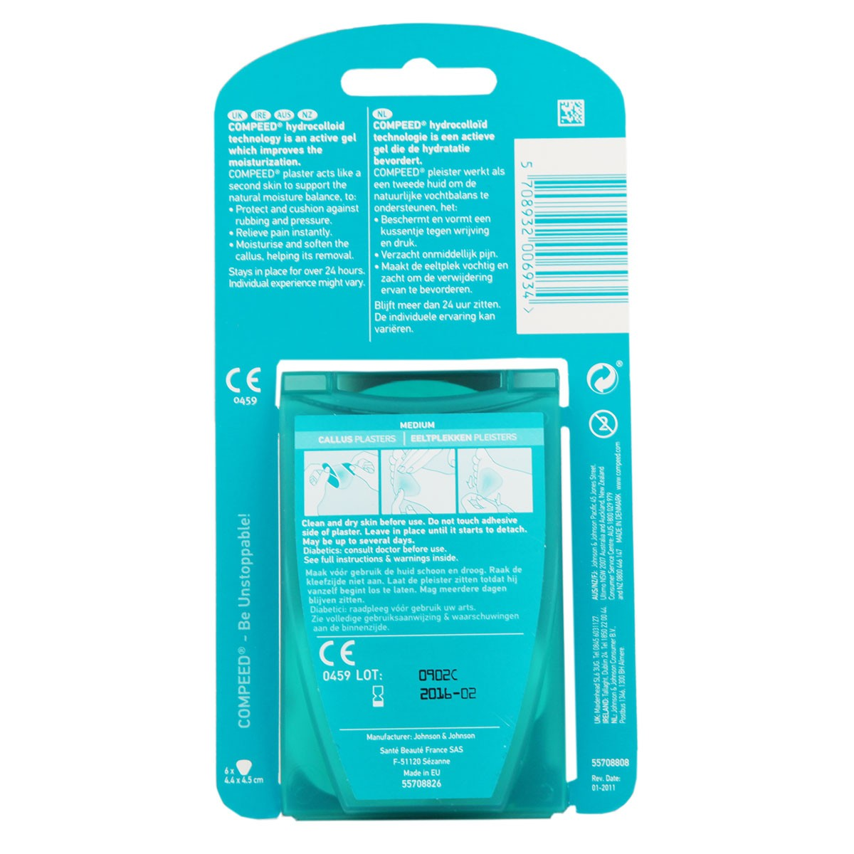 Compeed Callus Plasters Medium
