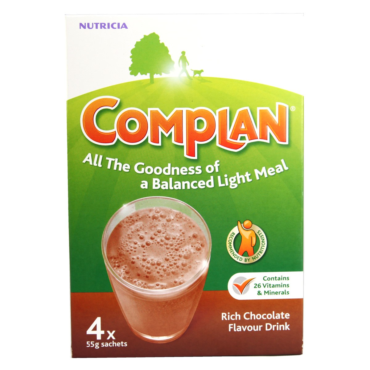 Complan Nutricia Rich Chocolate Flavour Drink