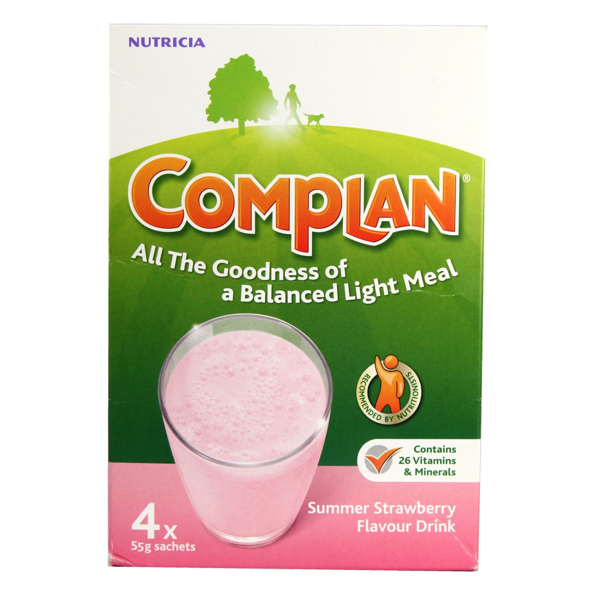 Complan Nutricia Summer Strawberry Flavour Drink