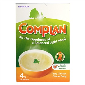 Complan Nutricia Tasty Chicken Flavour Soup