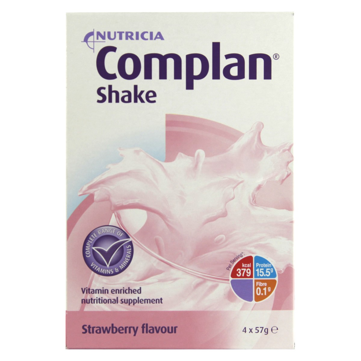 Complan Shake Strawberry Flavour