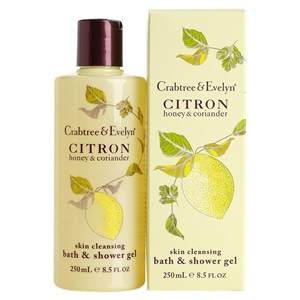 Crabtree & Evelyn Citron, Honey & Coriander Bath and Shower Gel