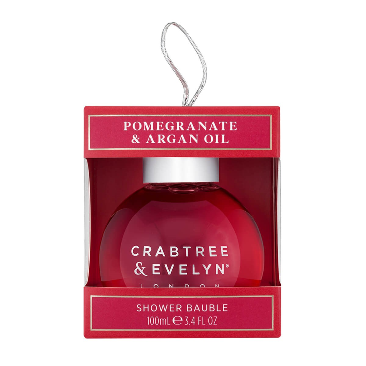 Crabtree & Evelyn Pomegranate & Argan Oil Shower Bauble