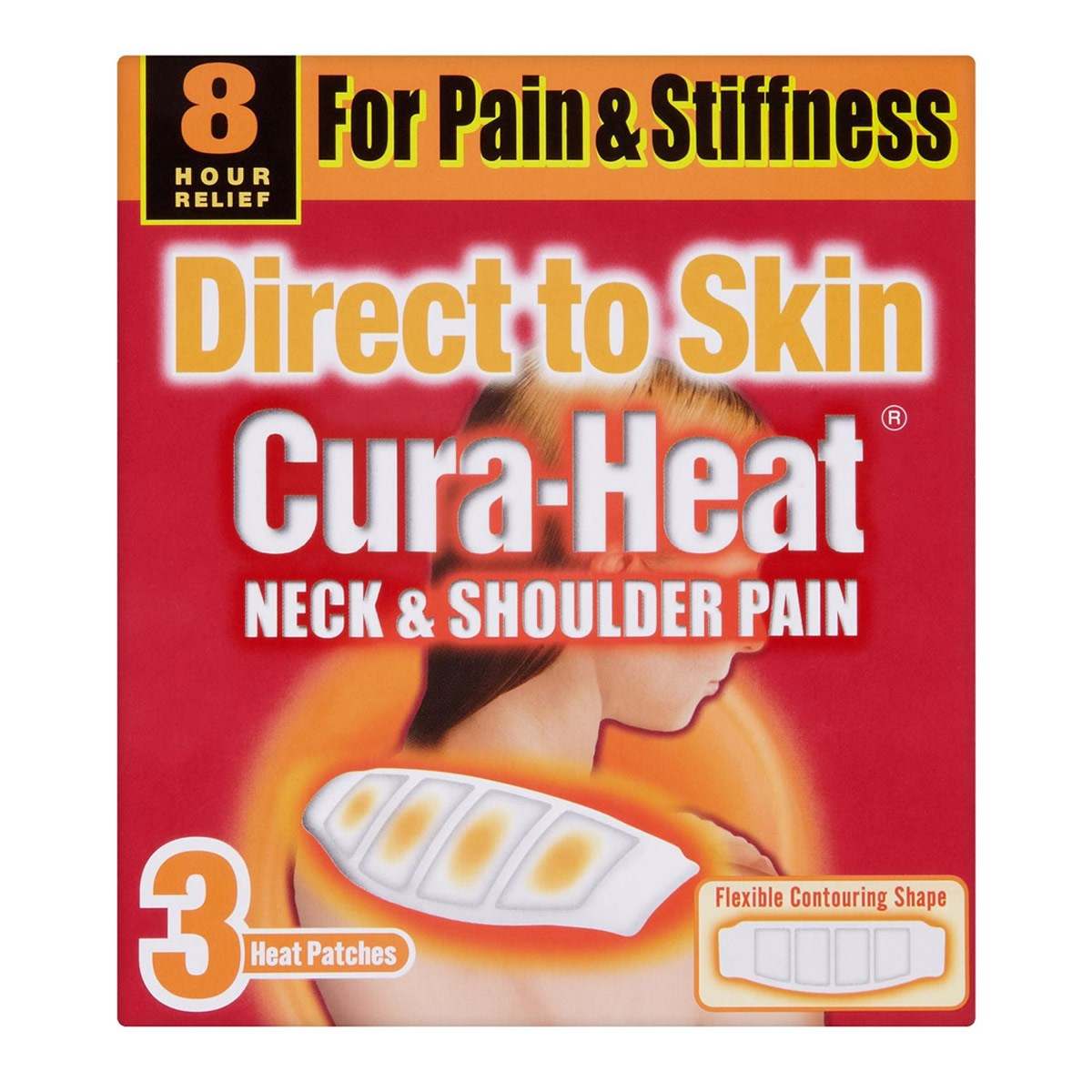 Cura-Heat Direct to Skin Neck & Shoulder Pain