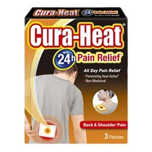 Cura-Heat Up to 24h Back & Shoulder Pain Relief