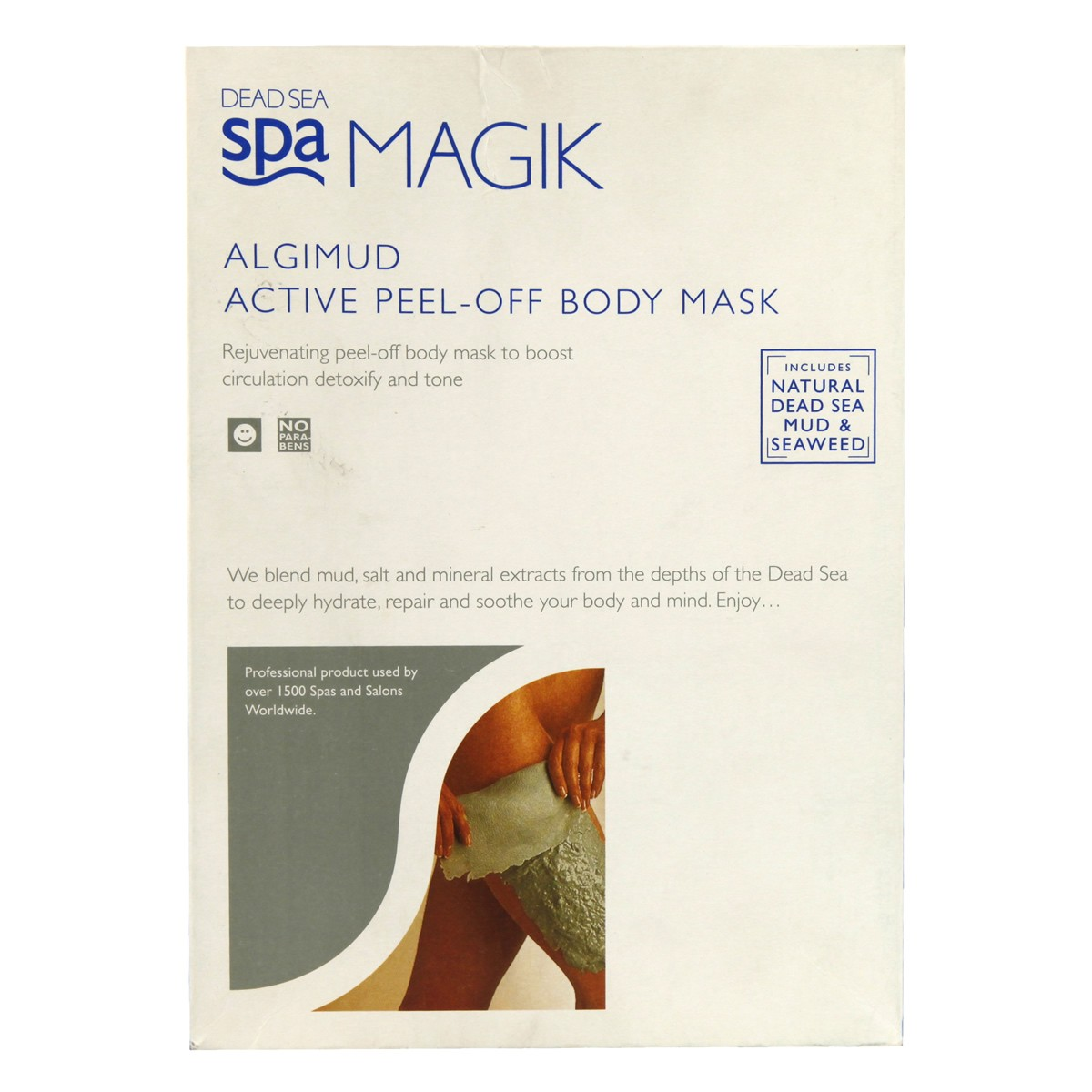 Dead Sea Spa Magik Algimud Active Peel-Off Body Mask