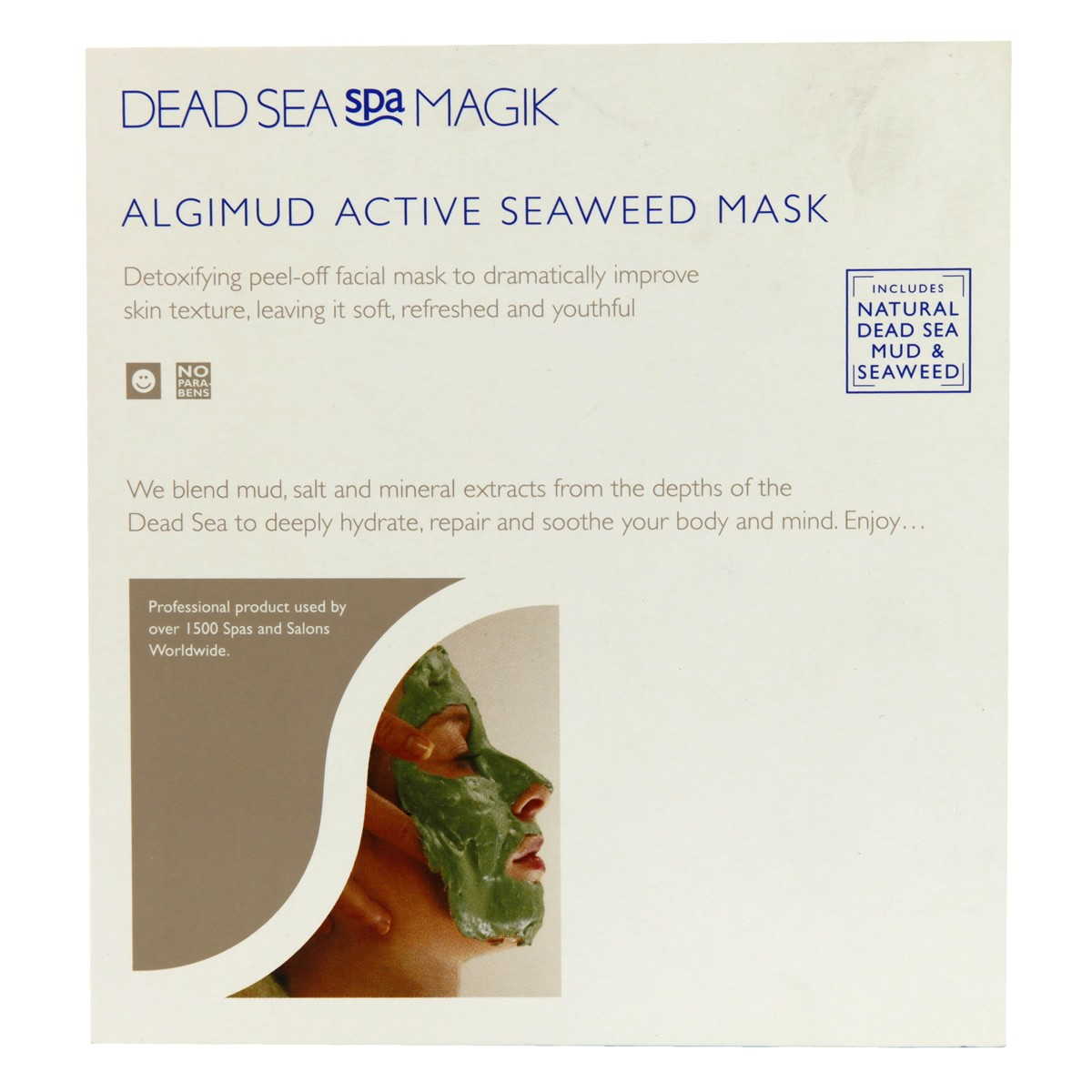 Dead Sea Spa Magik Algimud Active Seaweed Mask
