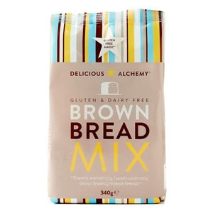 Delicious Alchemy Gluten & Dairy Free Brown Bread Mix