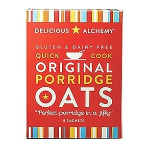 Delicious Alchemy Gluten & Dairy Free Quick Cook Original Porridge Oats