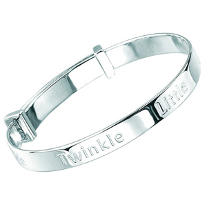 D for Diamond B4322 Twinkle Twinkle Bangle