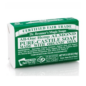 Dr. Bronner's Organic Pure Castile Almond Soap