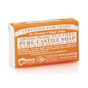 Dr. Bronner's Organic Pure Castile Tea Tree Soap
