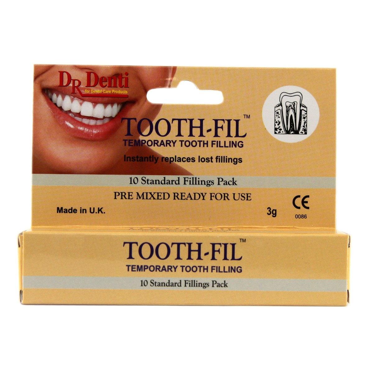Dr Denti Tooth-Fil Temporary Tooth-Filling