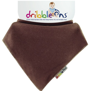 Dribble Ons Dribble Ons Brights - Chocolate