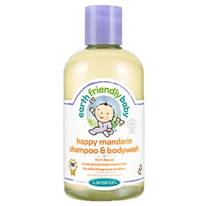 Earth Friendly Baby Happy Mandarin Shampoo & Bodywash