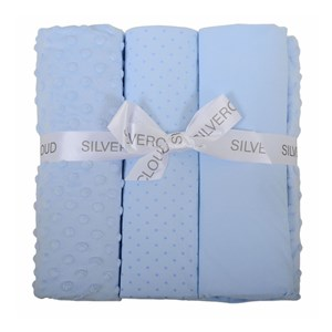 East Coast Cot Bed Bedding Bale Blue