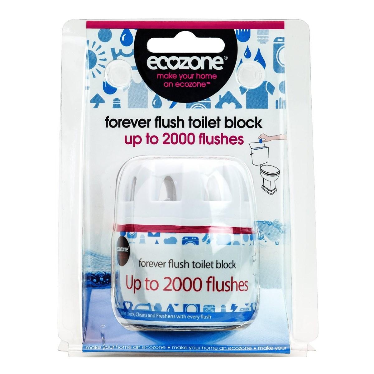 Ecozone Forever Flush Toilet Block