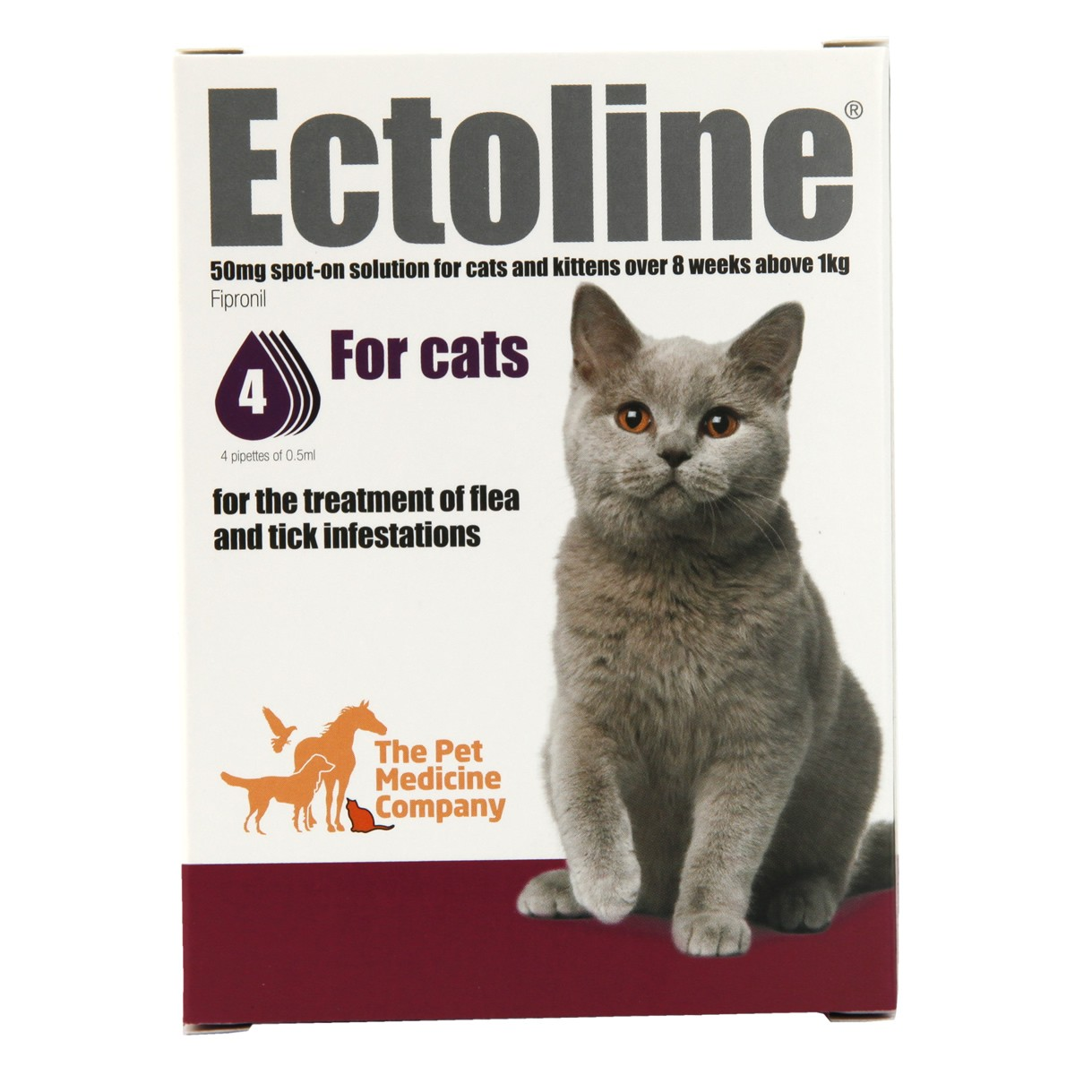 Ectoline Spot-on for Cats