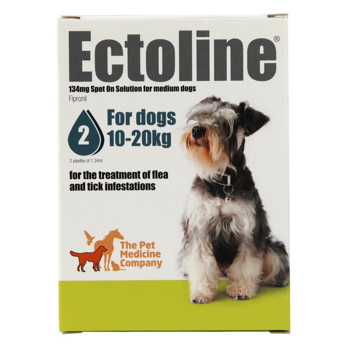 Ectoline Spot-on for Dogs 10-20kg