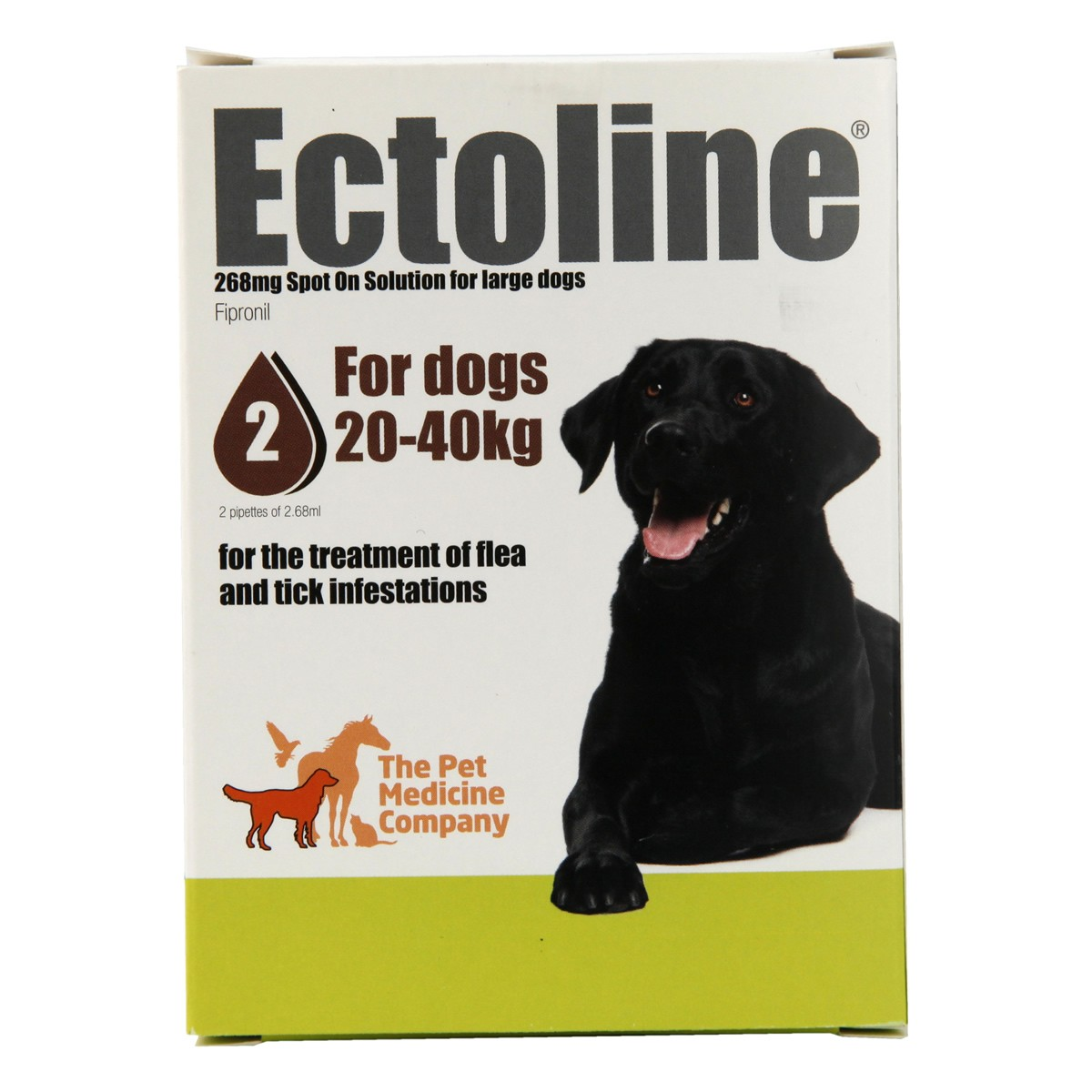 Ectoline Spot-on for Dogs 20-40kg