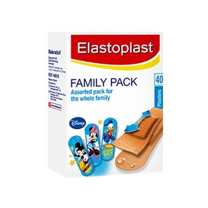 Elastoplast Family Assorted Pack for Whole Family