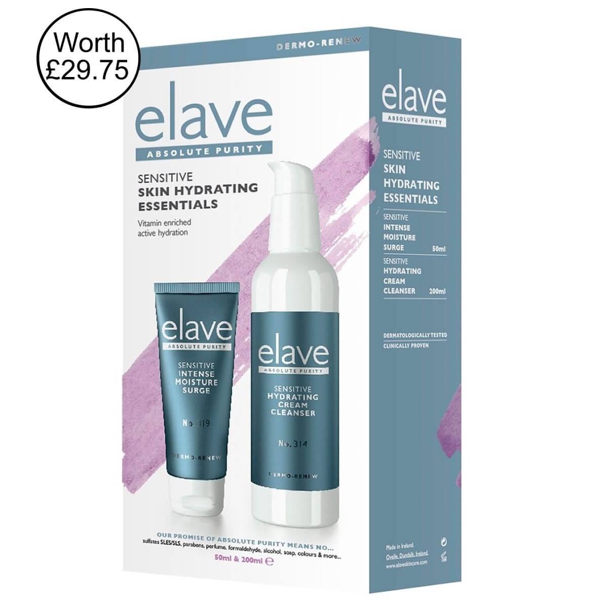 Elave Sensitive Skin Hydrating Essentials Pack