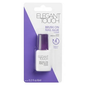 Elegant Touch Adhesives Brush-On Nail Glue