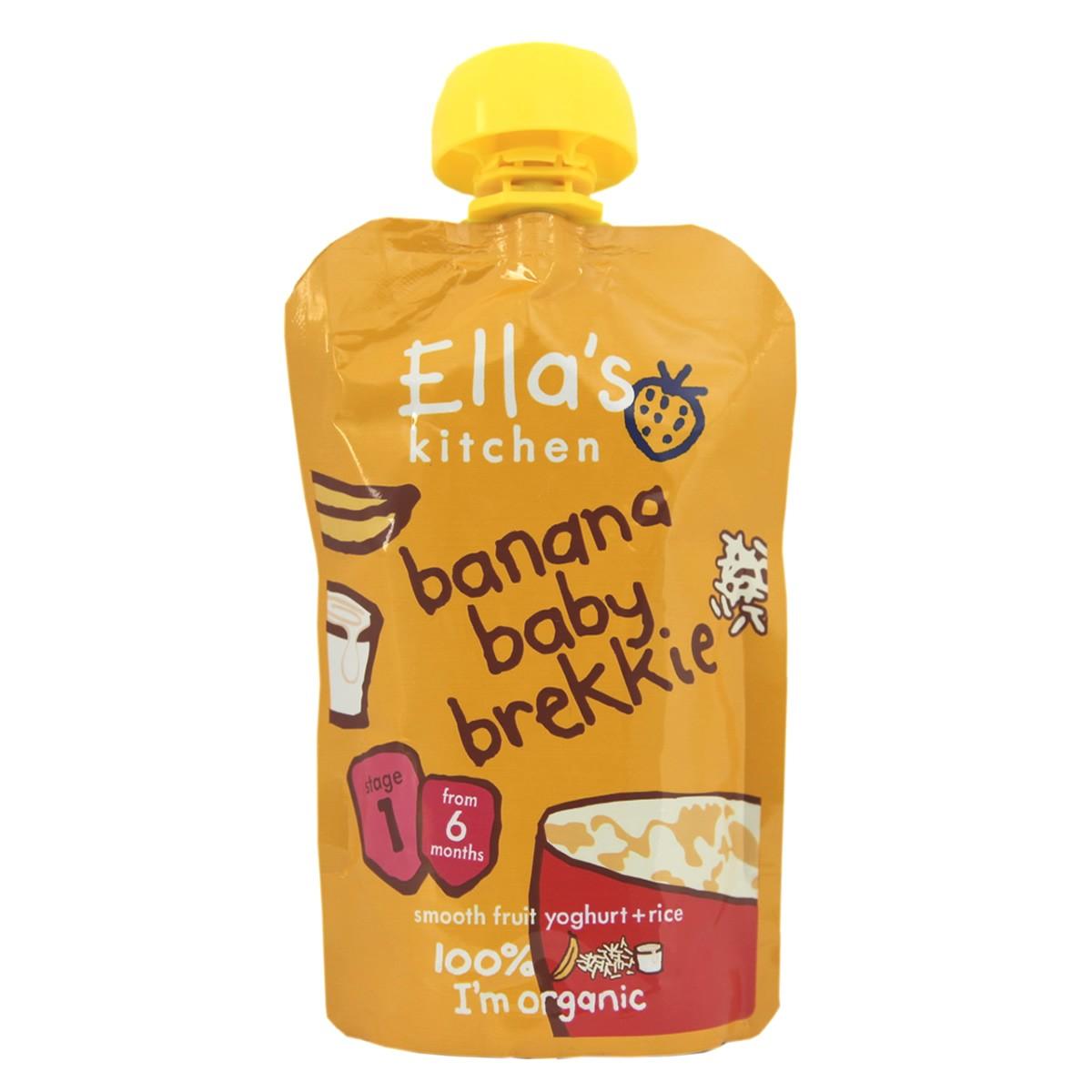 Ella's Kitchen Banana Baby Brekkie - Stage 1