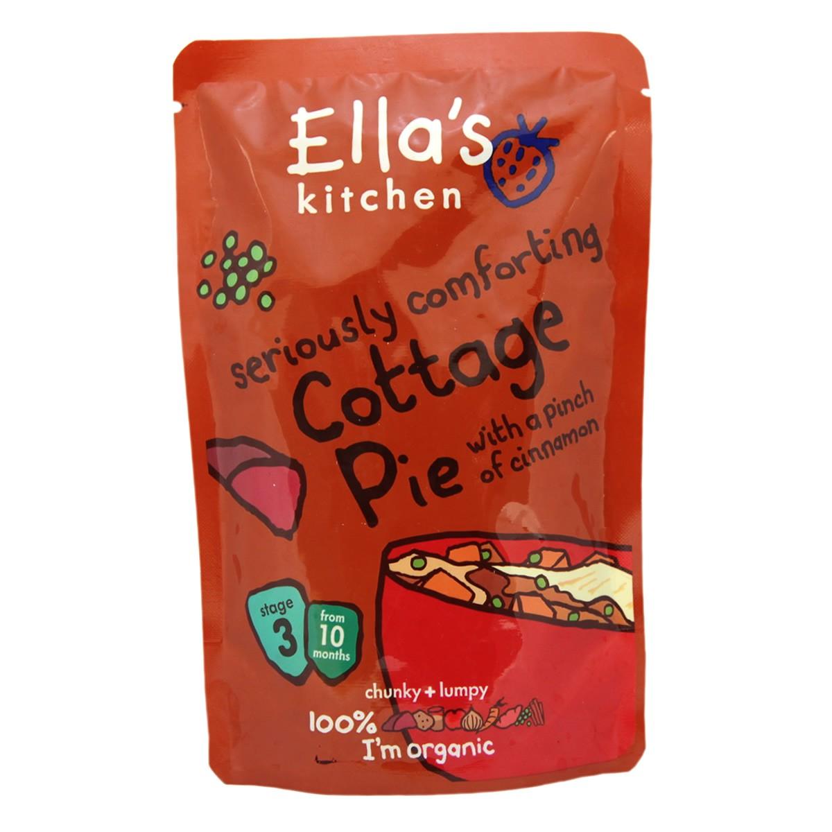 Ella's Kitchen Cottage Pie with a Pinch of Cinnamon - Stage 3