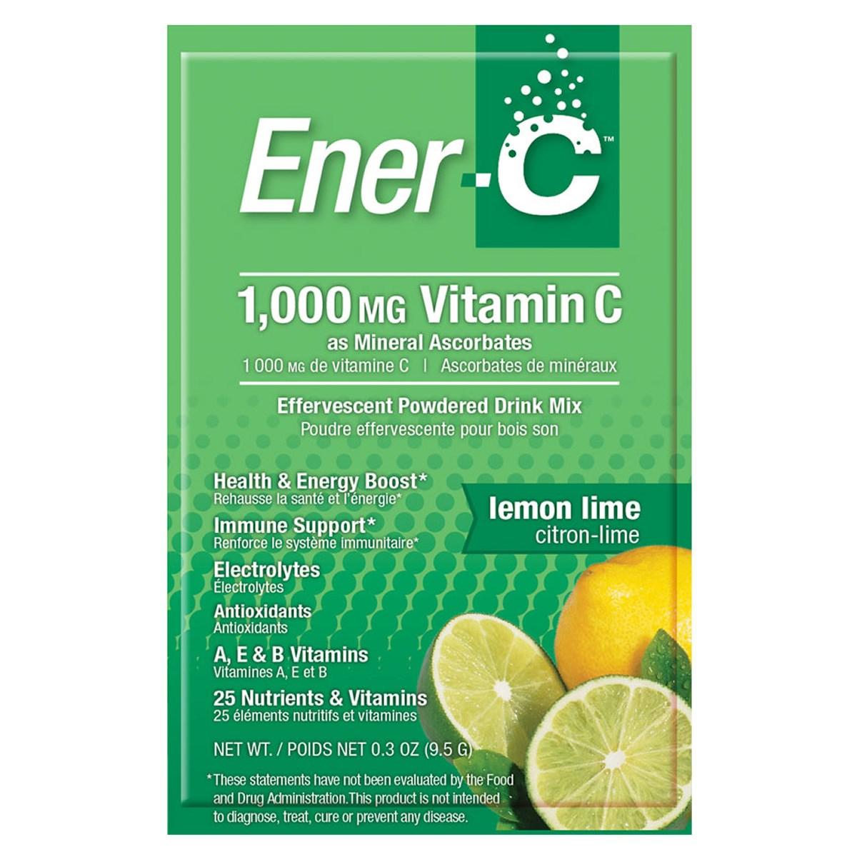 Ener-C 1000mg Vitamin C - Lemon Lime